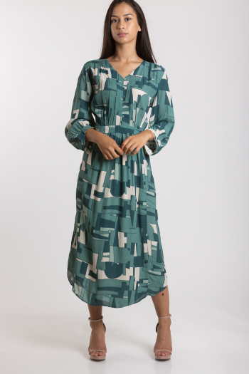 Ženska haljina Crepe Drape