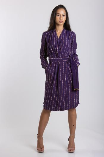 Ženska haljina Printed Viscose
