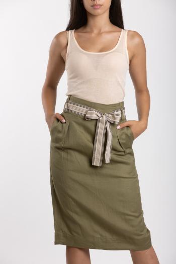 Ženska suknja Linen Blend