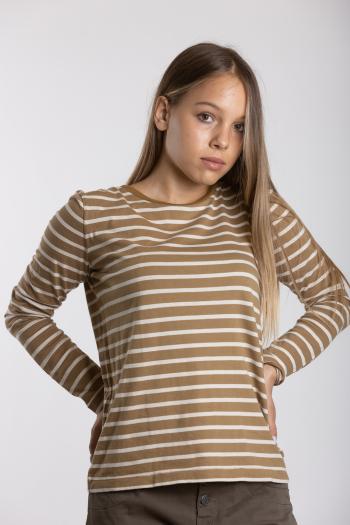 Ženska majica Striped Cotton Jersey