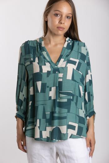 Ženska bluza Crepe Drape