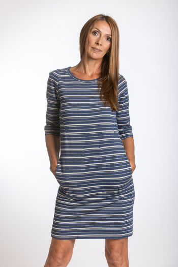 Ženska haljina Striped Jersay