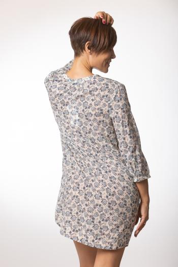 Ženska haljina Cupro Voile