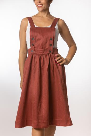 Ženska haljina Otn Hemp