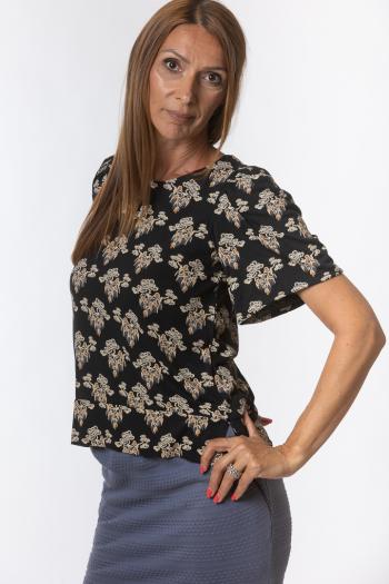 Ženska bluza Printed jersey