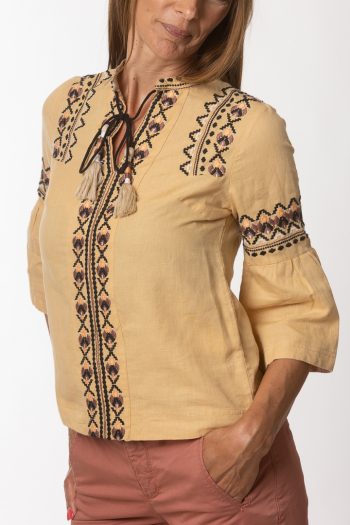 Ženska bluza Folklore cotton