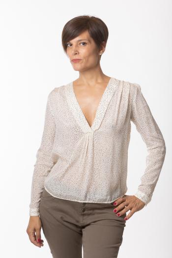 Ženska bluza Drapy viscose