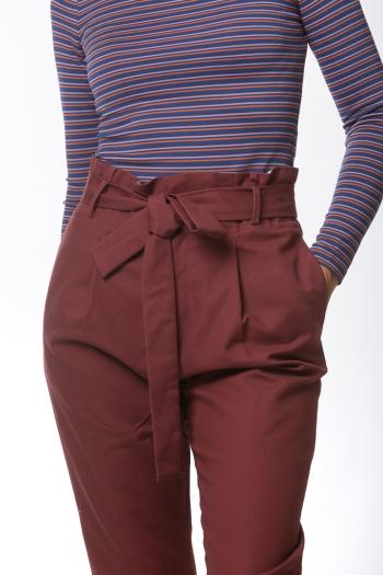 Ženske pantalone Basic stretch - long