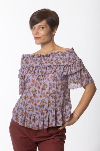 Ženska bluza Blouse short sleeve