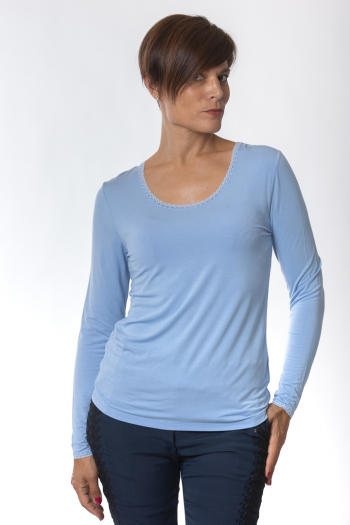 Ženska majica T-shirt long sleeve