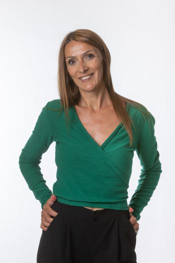 Ženski džemper Wrap long sleeve