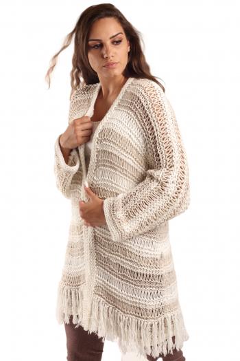 Ženski džemper Fringes Knite