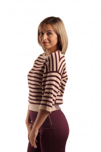 Ženski džemper Striped knit