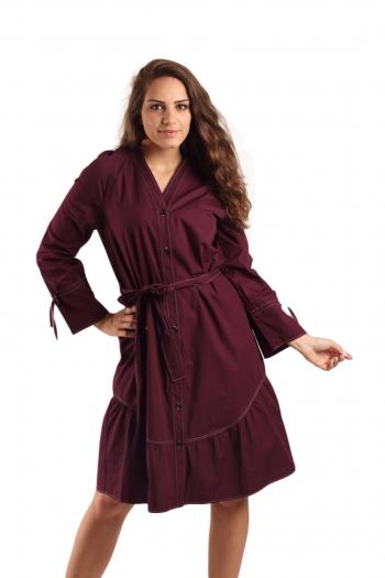 Ženska haljina Organic Cotton Poplin