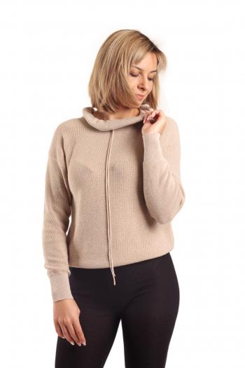 Ženski džemper Metallic Knit