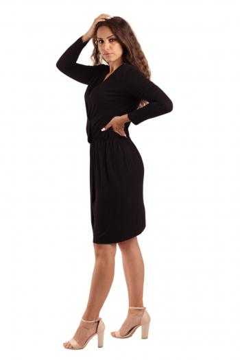 Ženska haljina Drapy Viscose
