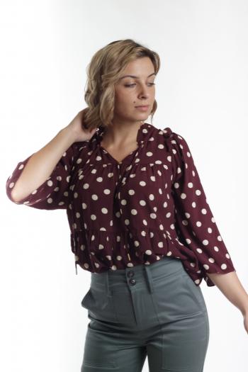 Ženska bluza Linear crepe