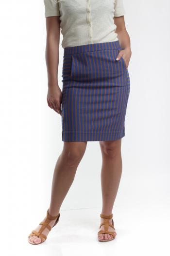 Ženska suknja Striped Jersey
