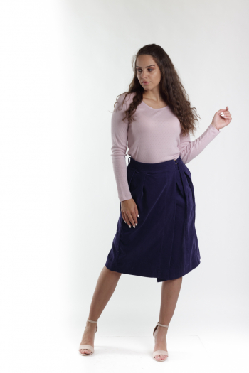 Ženska suknja Corduroy