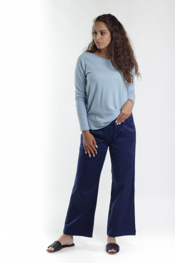 Ženske pantalone Sateen Cotton