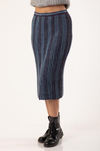 Ženska suknja Sparkling Stipes