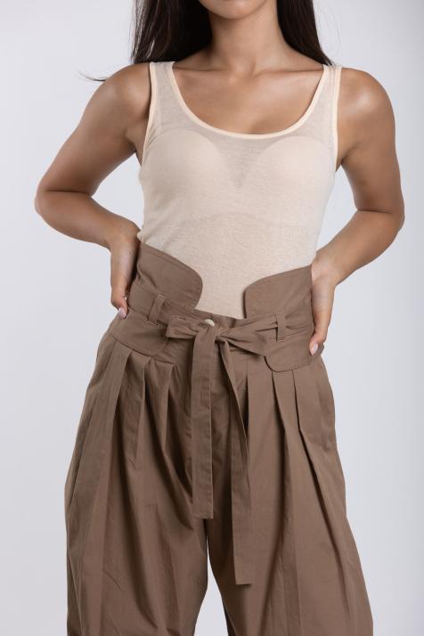 Ženske pantalone Organic Heavy Poplin