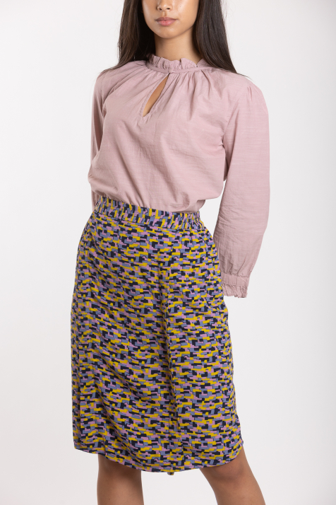 Ženska suknja Structure Moss