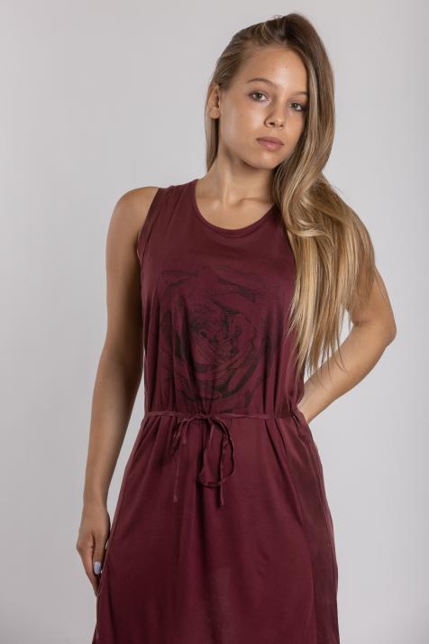 Ženska haljina Rose Jersey