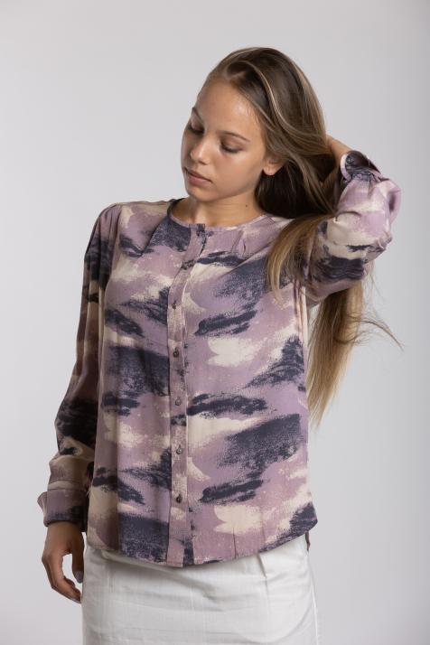 Ženska bluza Printed Moss Crepe