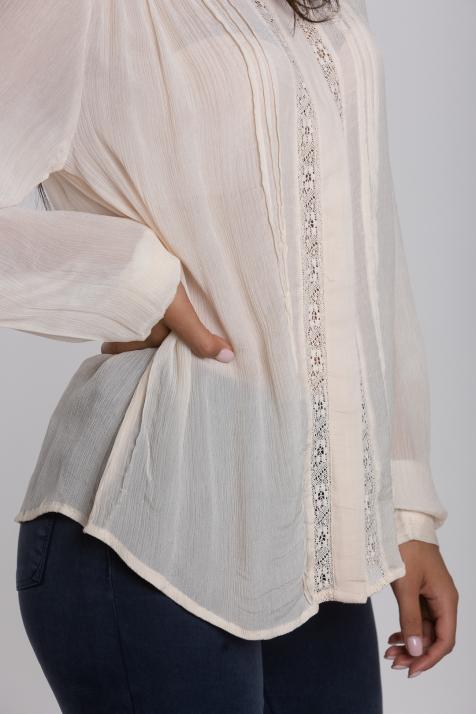 Ženska bluza Crinkle Viscose