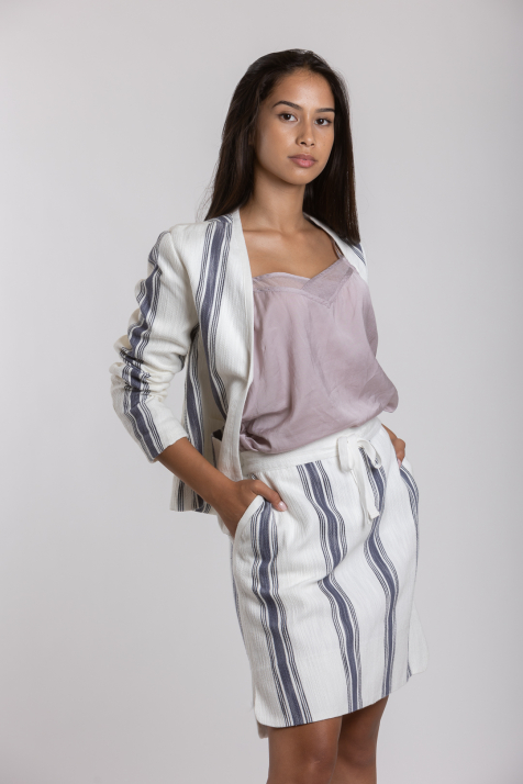 Ženska suknja Striped Summer