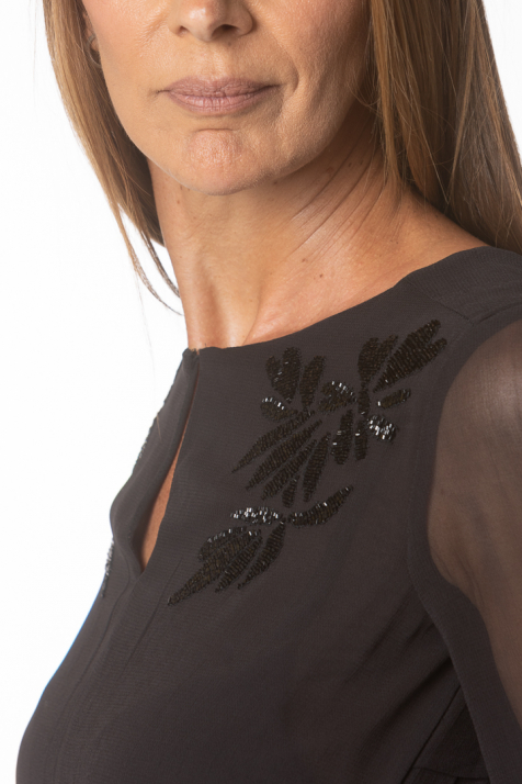 Ženska haljina Beaded
