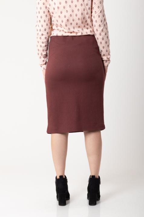 Ženska suknja Waffle sweat