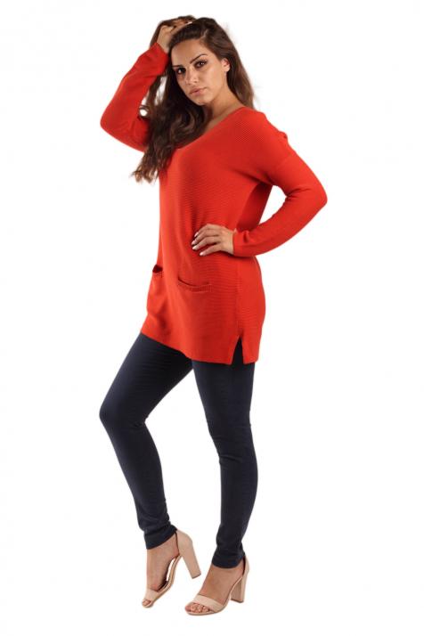 Ženski džemper Basic Organic Cotton
