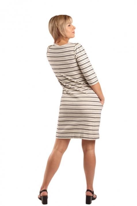 Ženska haljina  Striped Jersey Dress