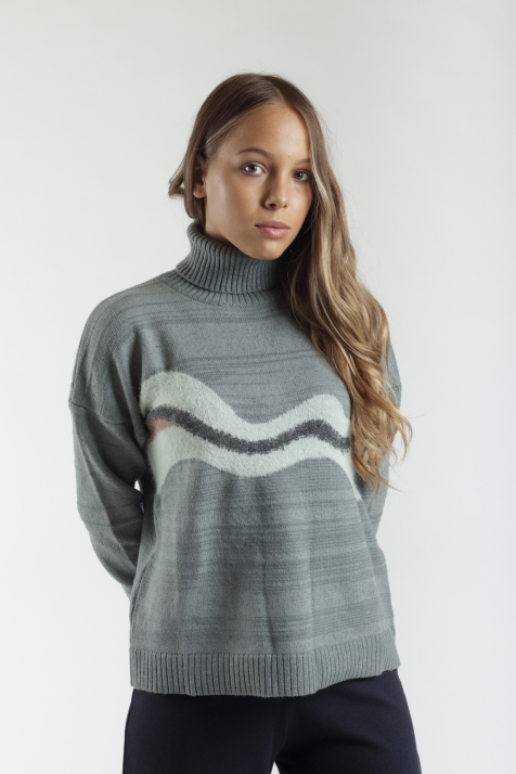 Ženski džemper KM120