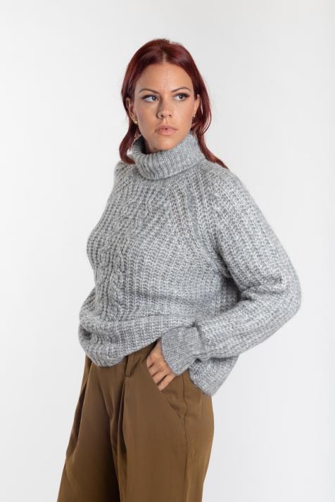 Ženski džemper Sudana Rollne