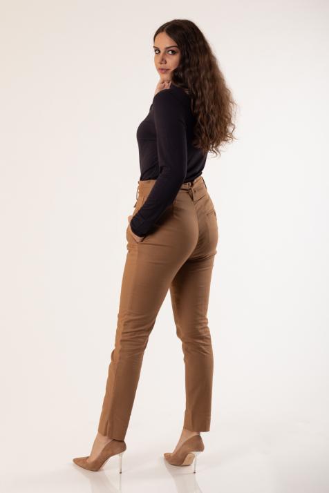 Ženske pantalone Basic stretch